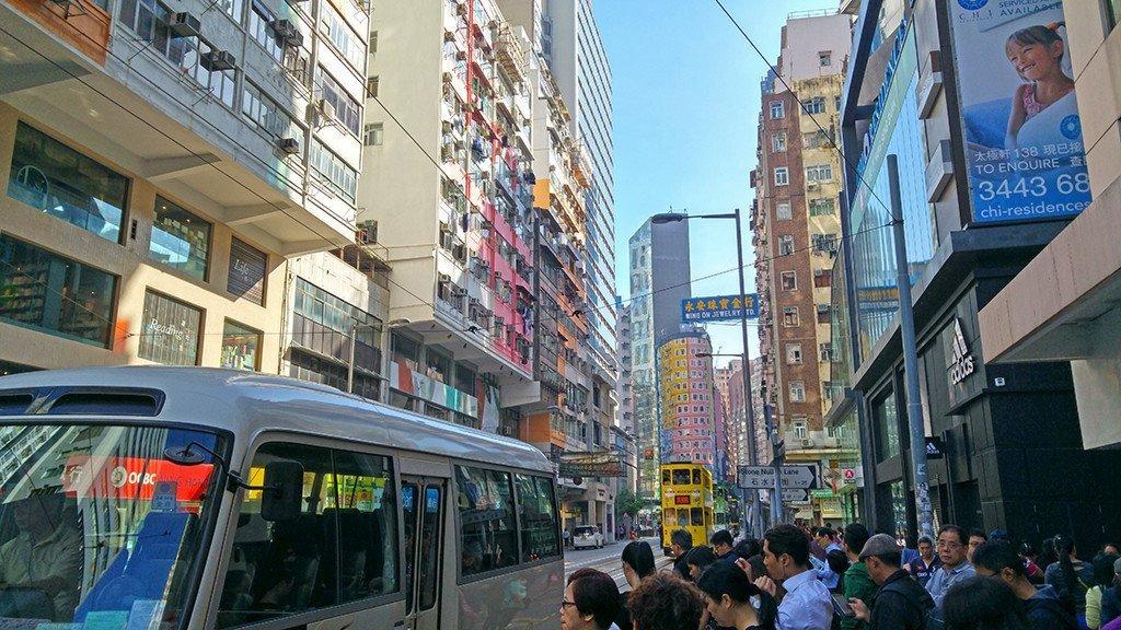 Johnston Road, Hong Kong