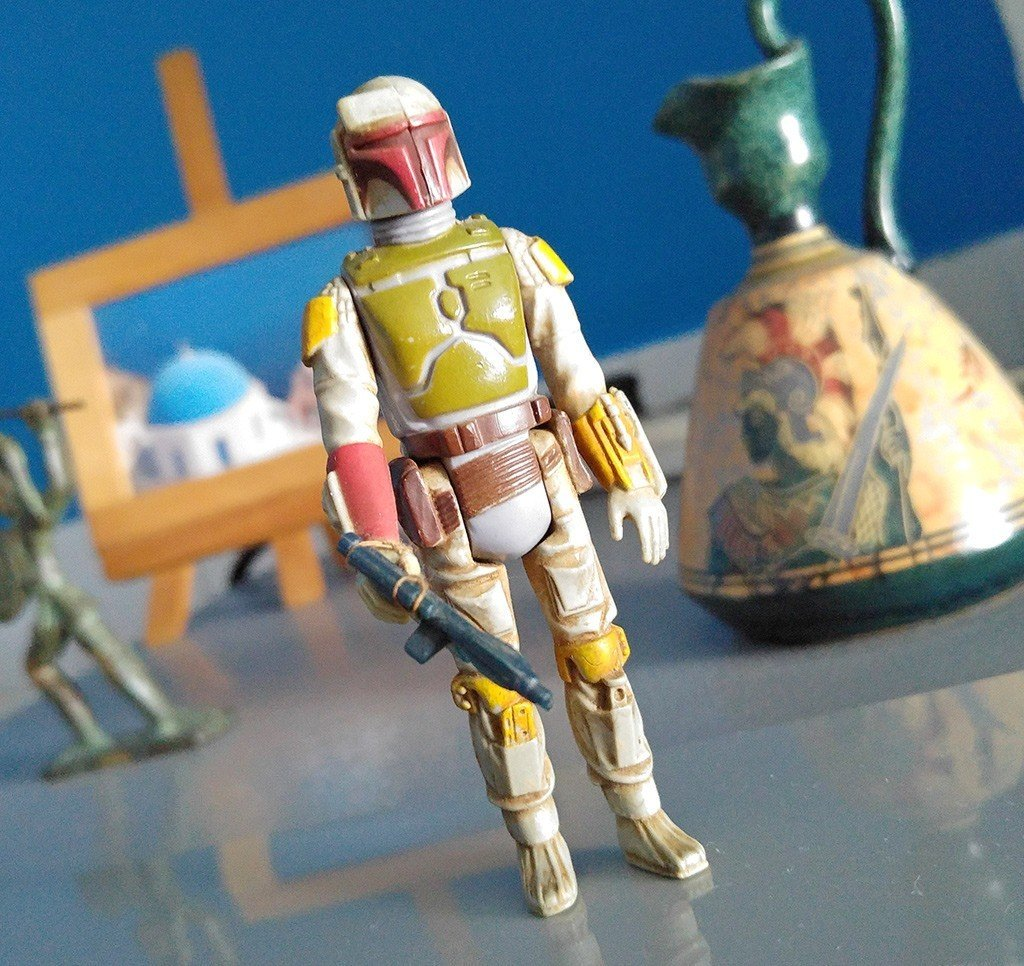 Kenner Boba Fett Toy Figurine.