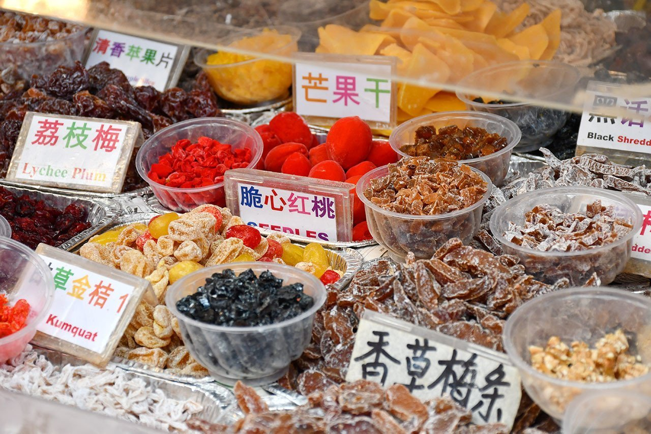 Chinese Preserved Candies.