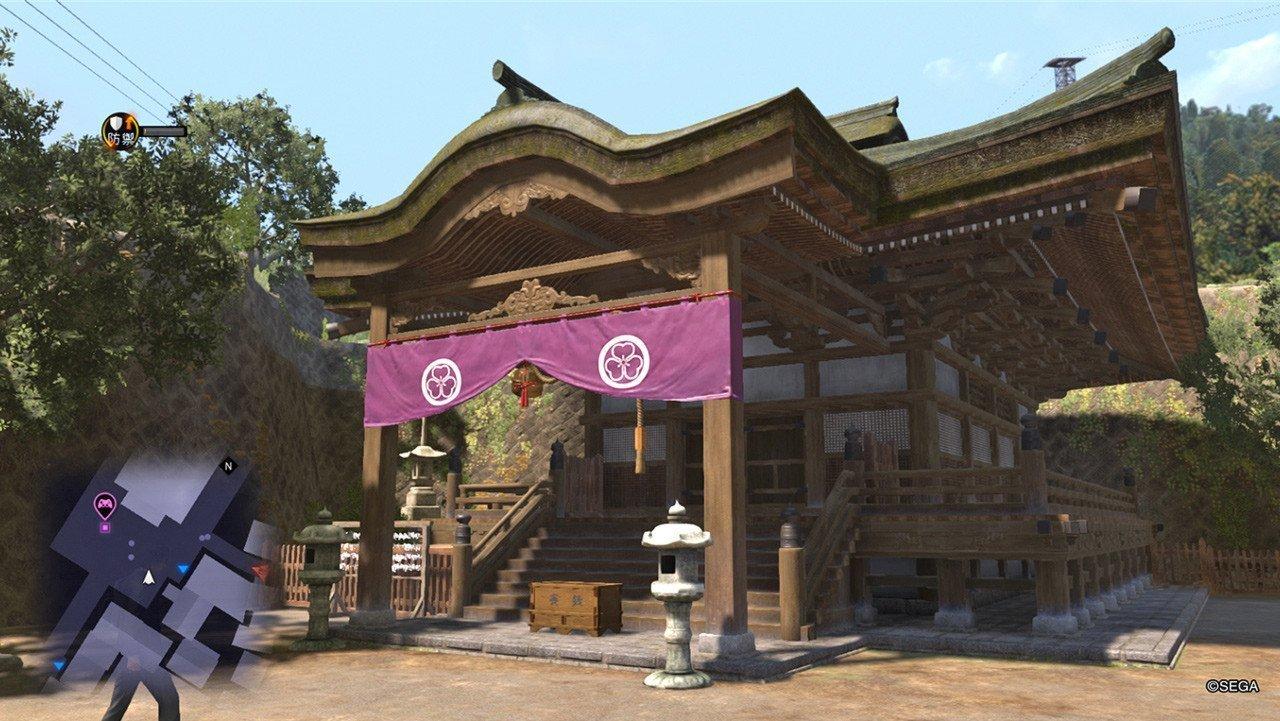 Ryū ga Gotoku 6 Onomichi Shrine Screenshot