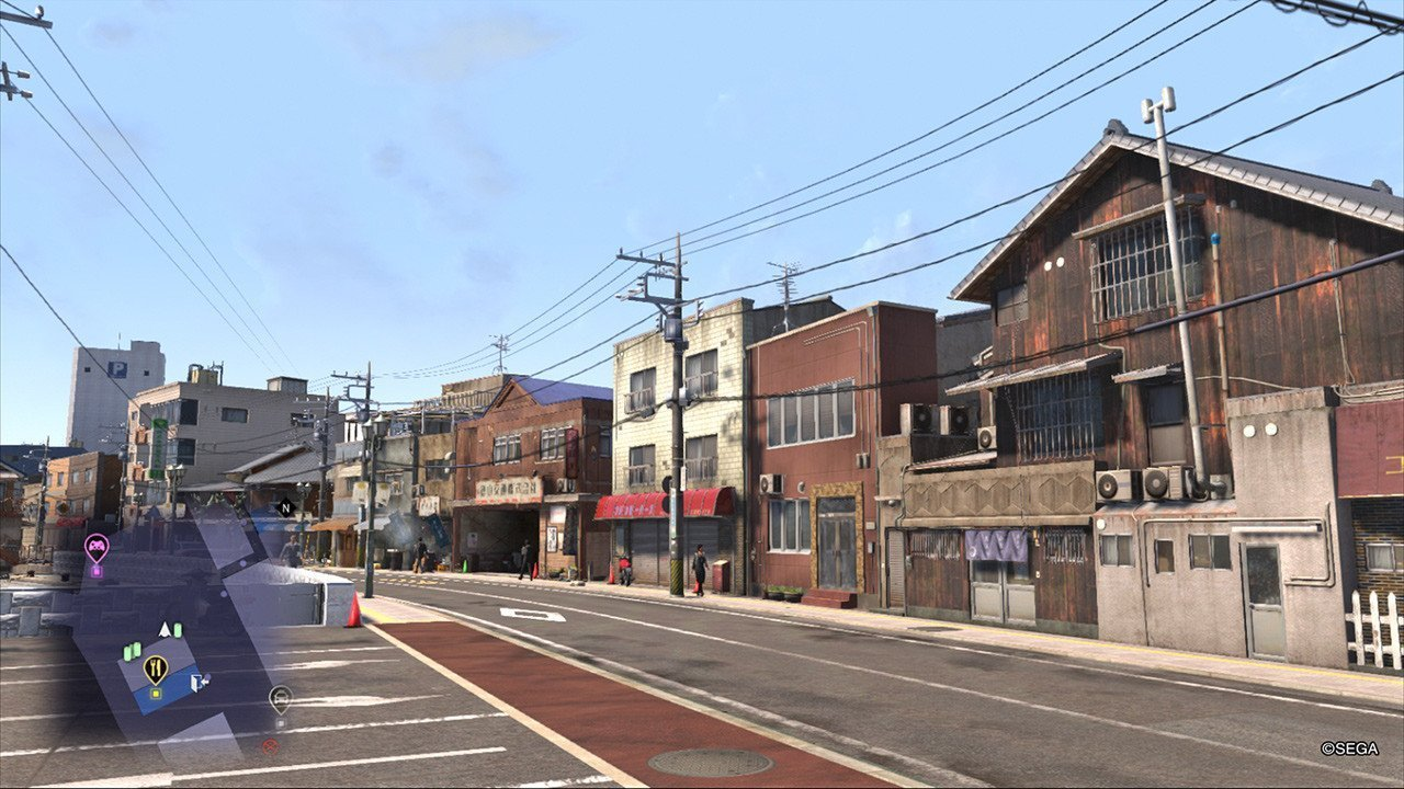 Ryū ga Gotoku 6 Onomichi Seafront.