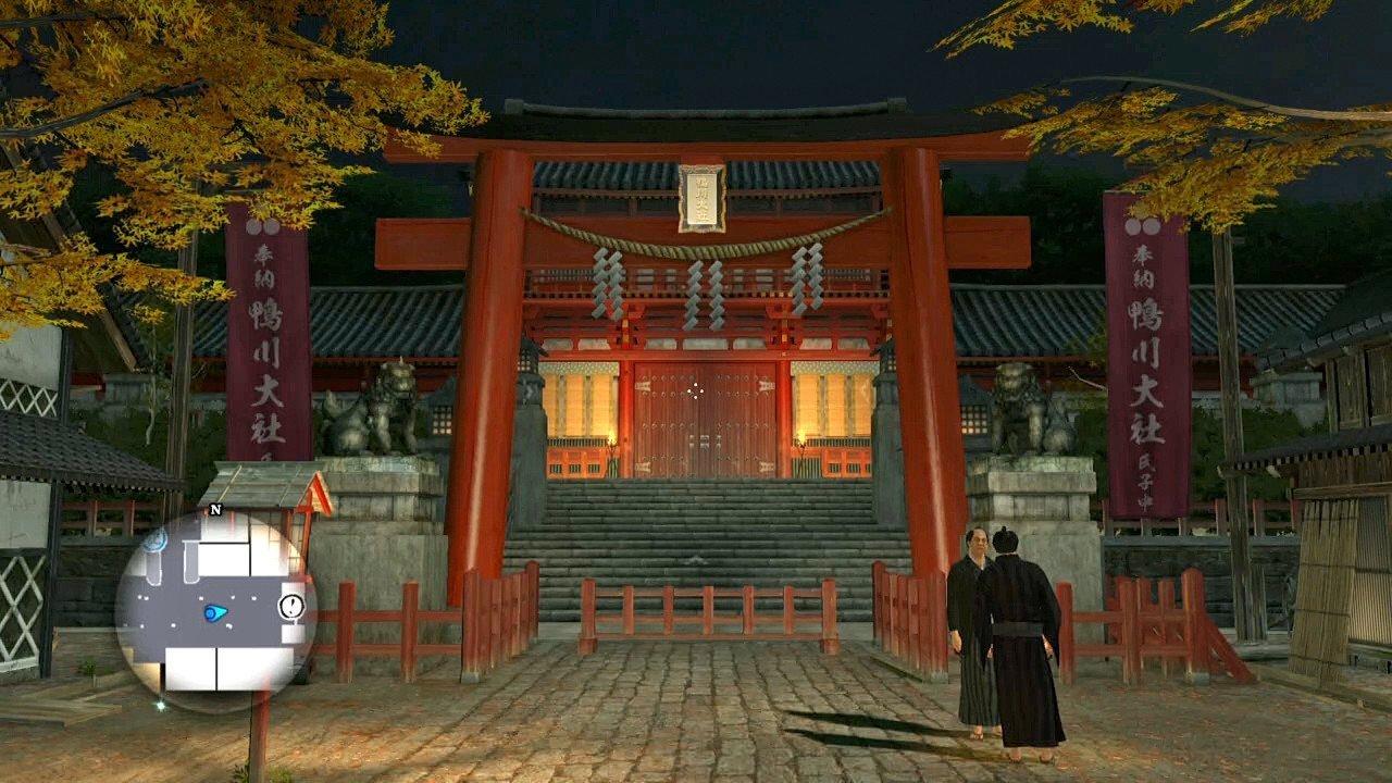 Ryū ga Gotoku Ishin Kamogawa Taisha Screenshot