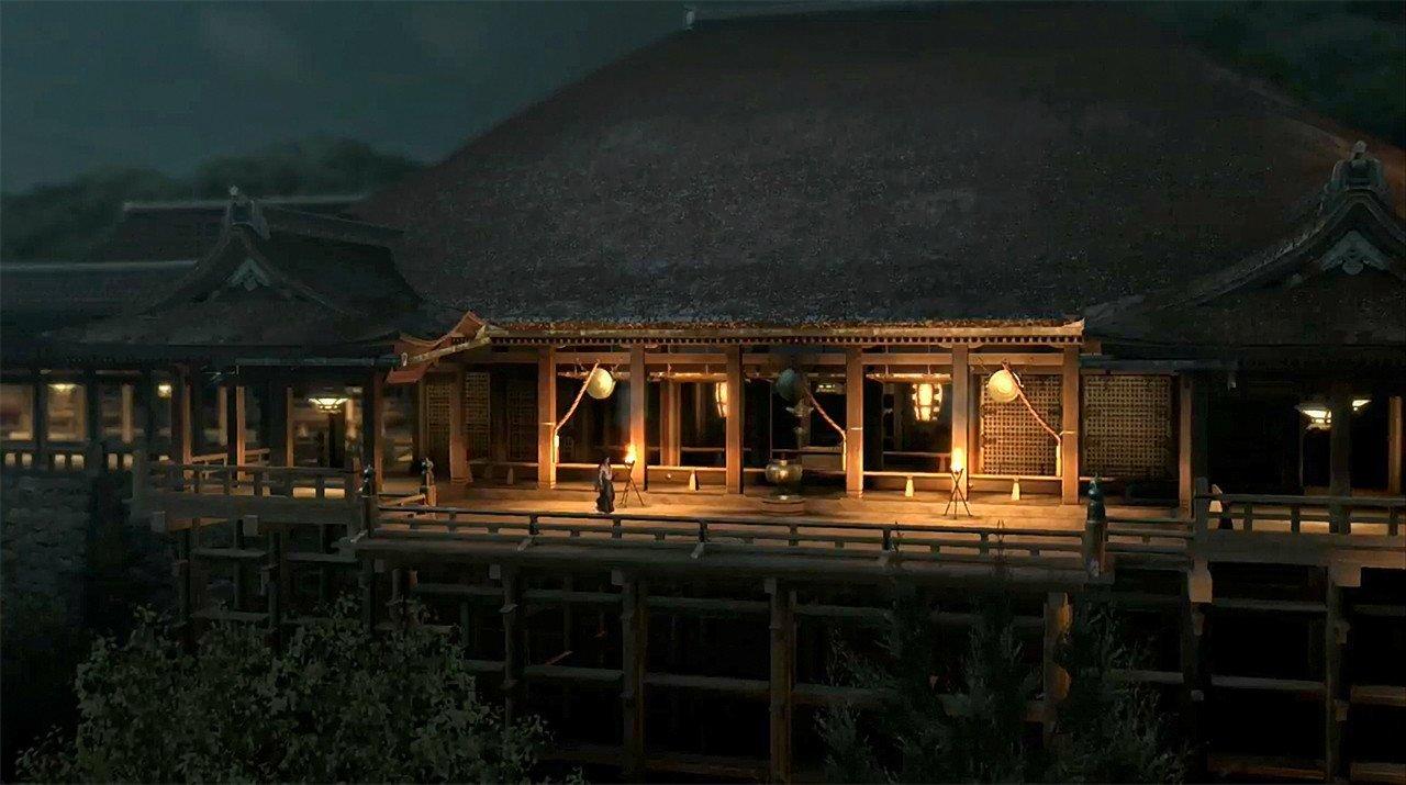 Ryū ga Gotoku Ishin Kiyomizu Temple Screenshot