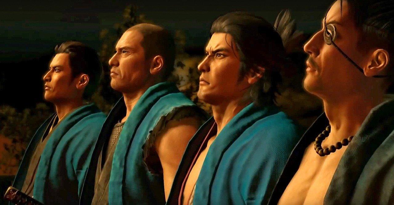 Ryū ga Gotoku Ishin Characters
