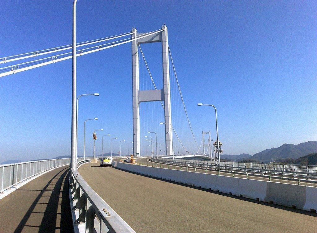 Shimanami Kaido Kurushima-Kaikyō Bridge