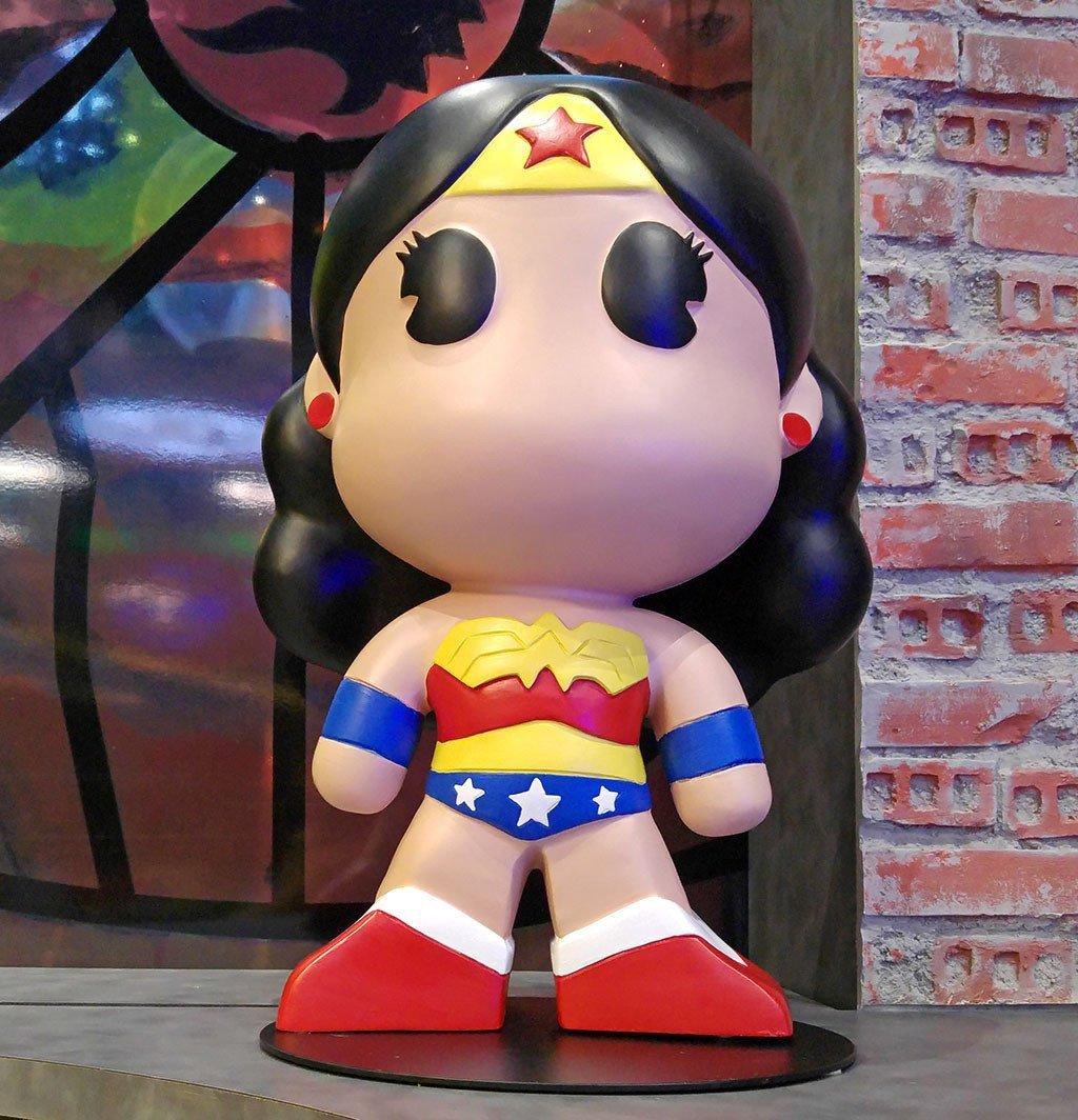 Wonder Woman Figurine.