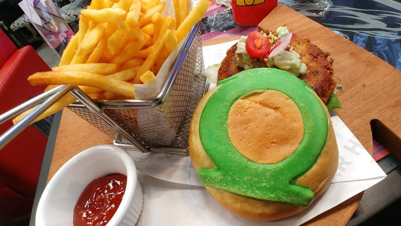GL Hal's Homemade Mushroom Tofu Burger