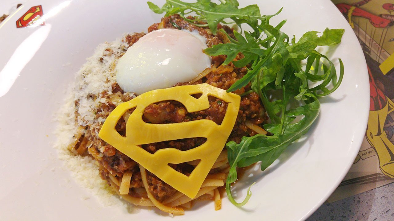Martha Kent's Homely Beef Bolognaise | DC Super Heroes Cafe