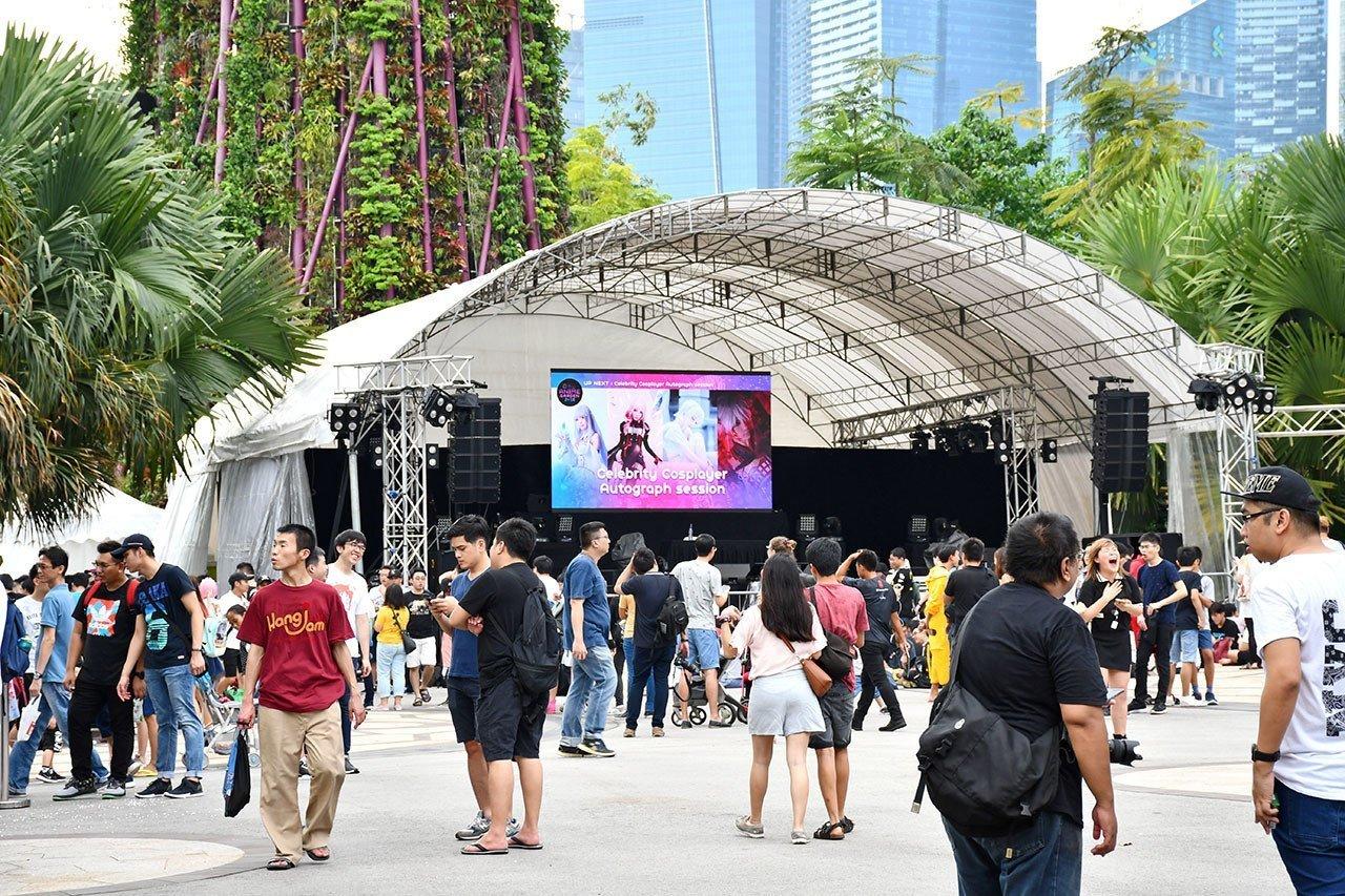 Anime Garden 2018 Stage.