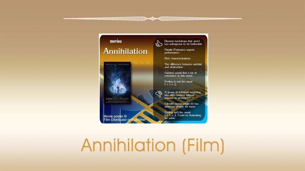 Annihilation (Film) Review