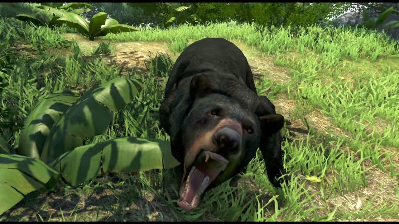 Far Cry 3 Bear Attack.