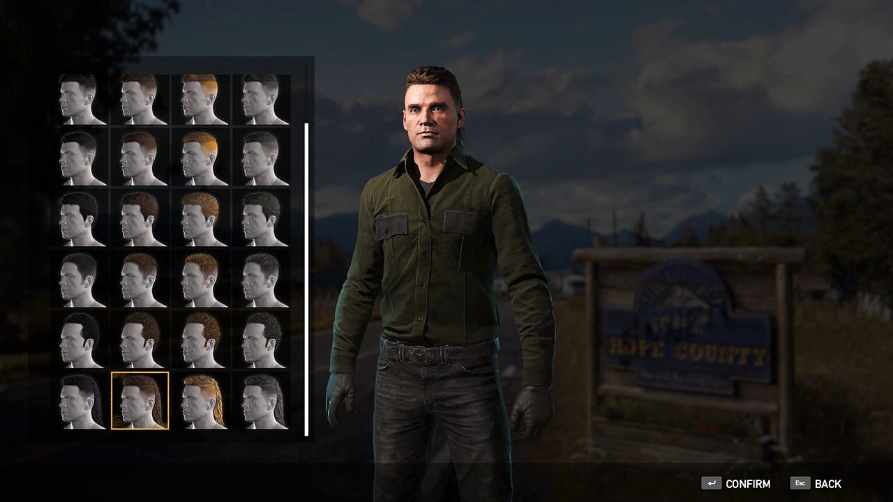 Far Cry 5 Hairstyles