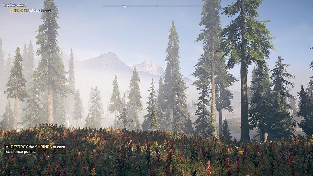 Far Cry 5 Dutch's Island Scenery