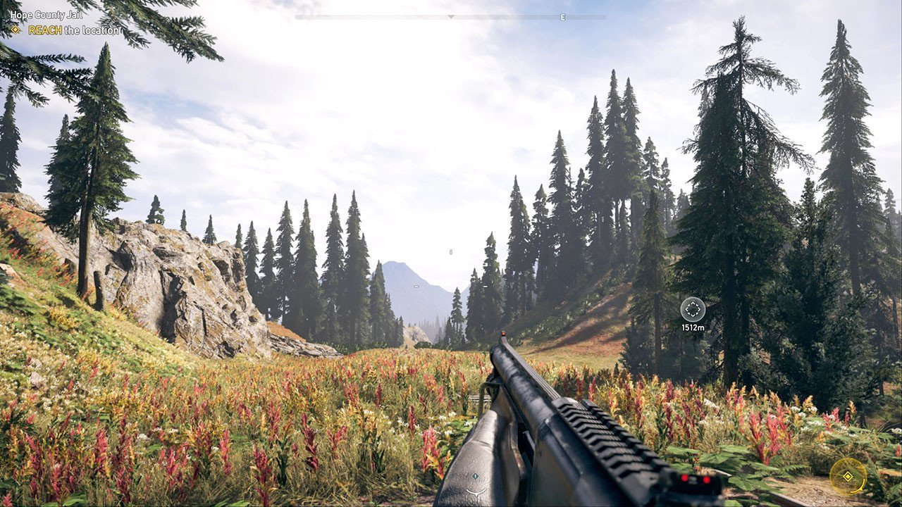 Hope County, Montana Screenshot.