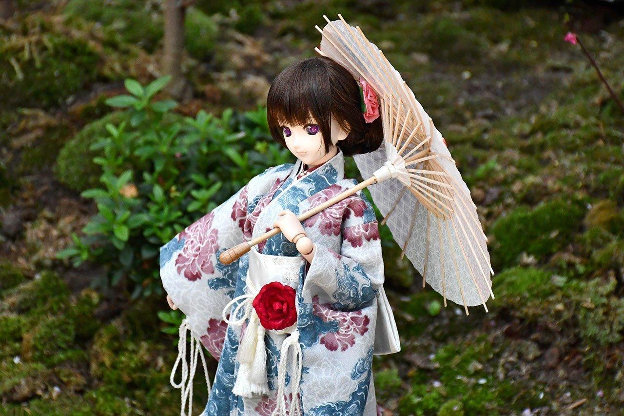Kawaii Japanese Anime Figurine.