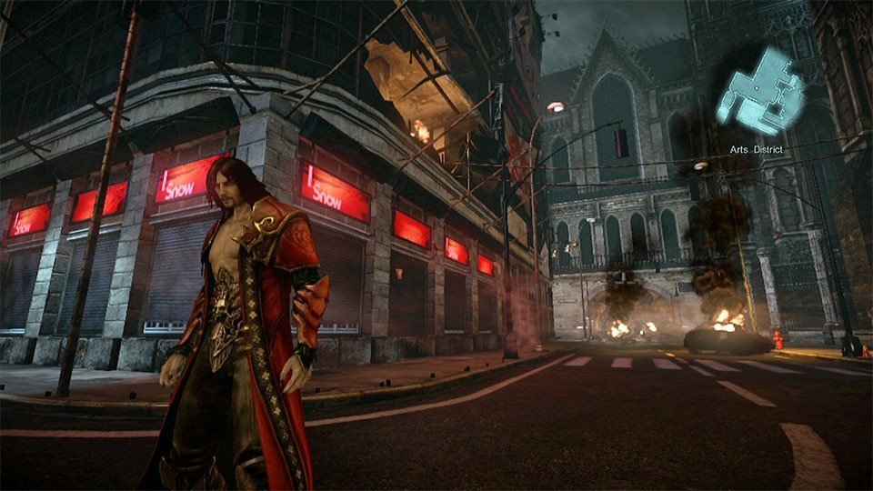 Lords of Shadow 2 Dracula.