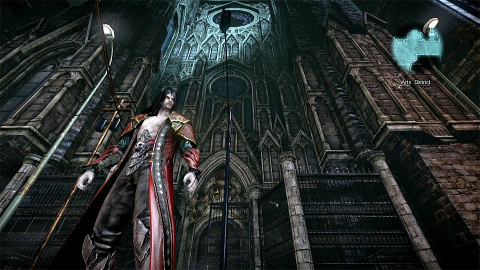 Castlevania: Lords of Shadow 2 Cathedral Screengrab