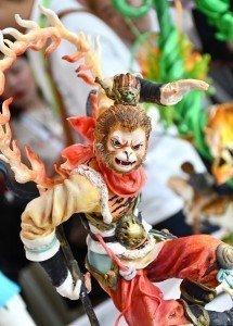 The Chinese Monkey King - Sun Wukong