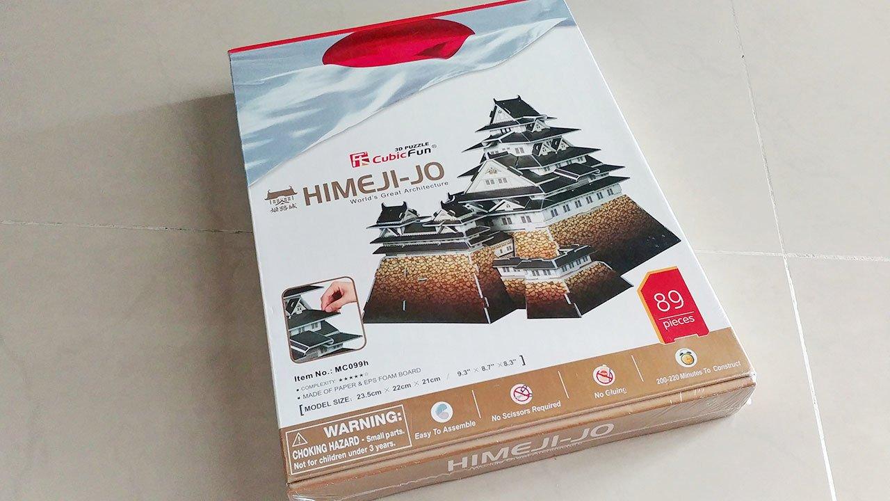 CubicFun Himeji-Jo 3d puzzle.