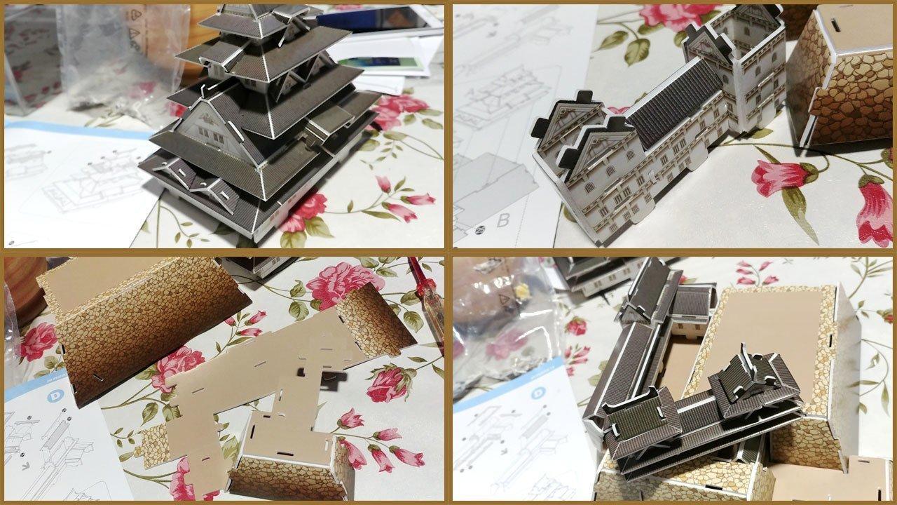 Assembling CubicFun 3D Puzzle