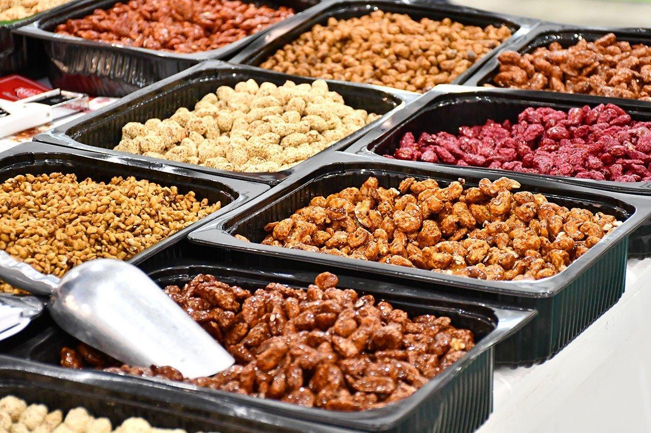 Greek Caramelized Nuts