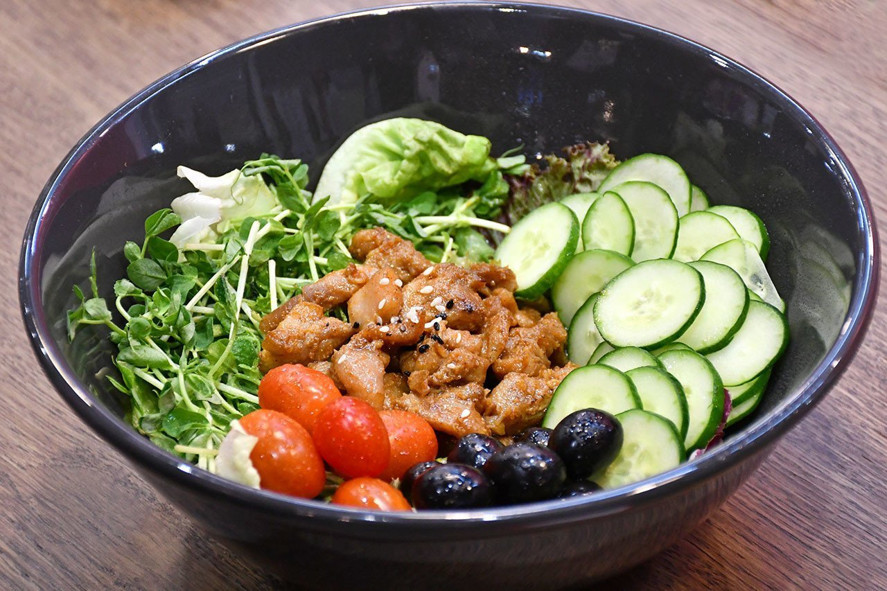 Singapore Satay Salad.