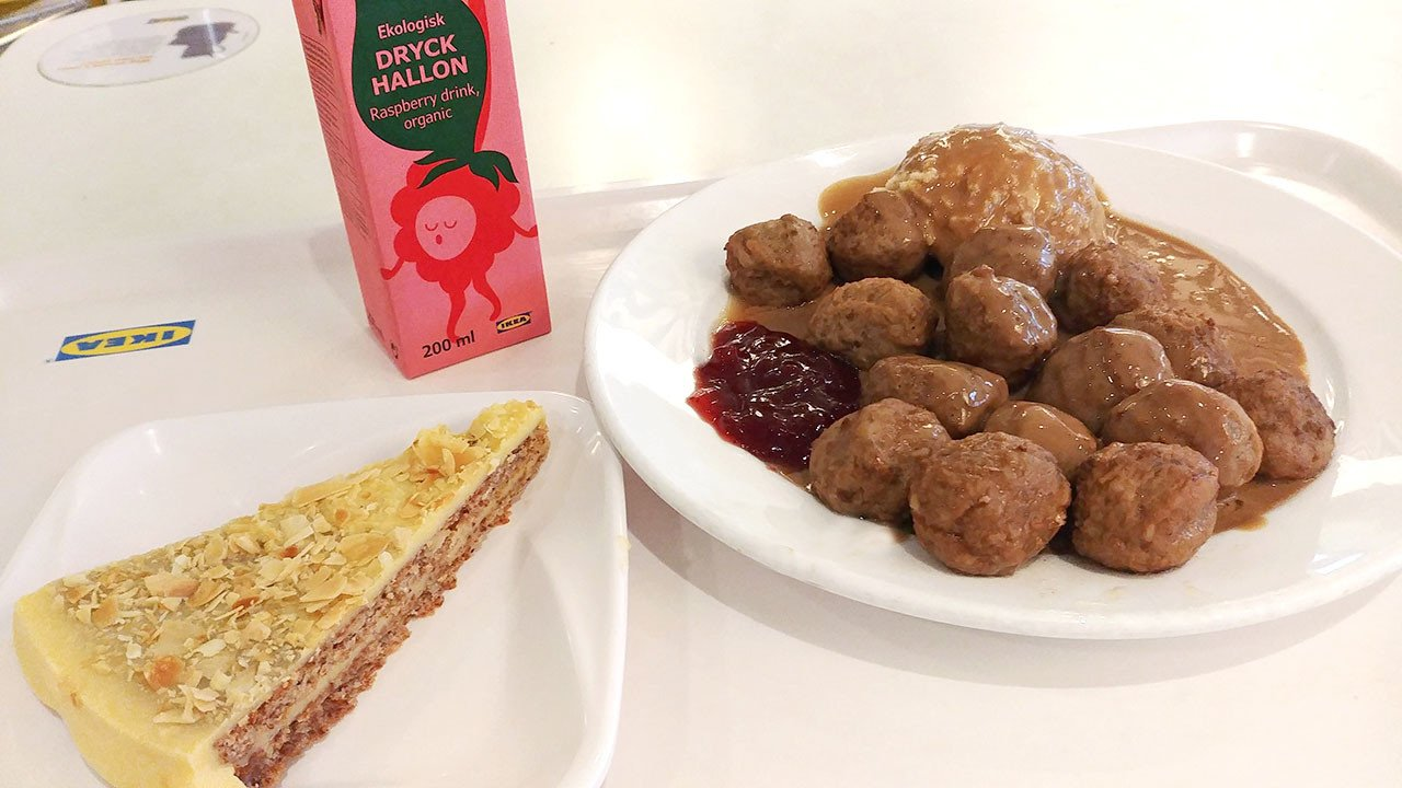 IKEA Alexandra Swedish Meatball
