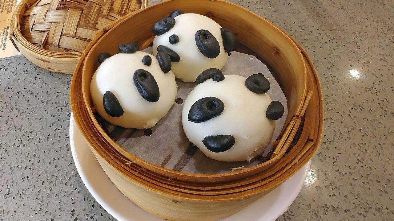 Tunglok Teahouse Square 2 Kungfu Panda Buns