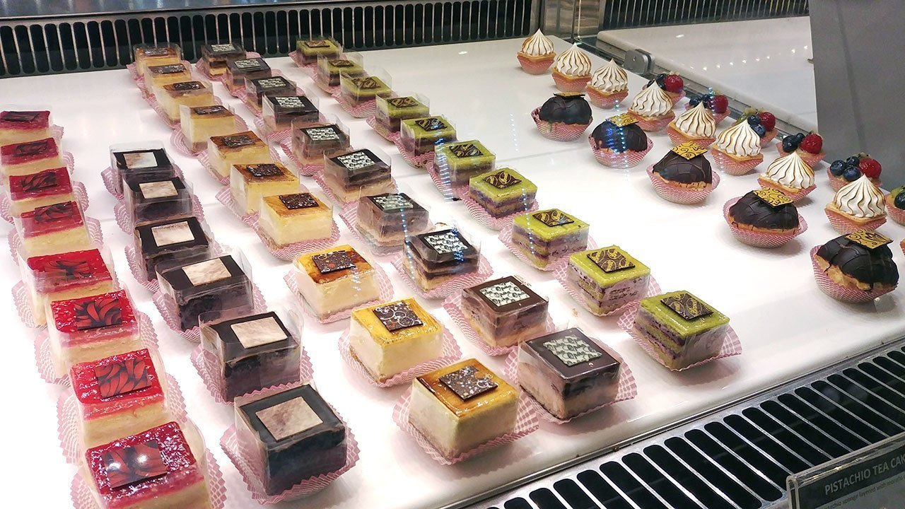 Brunetti Singapore Pastry Selection.