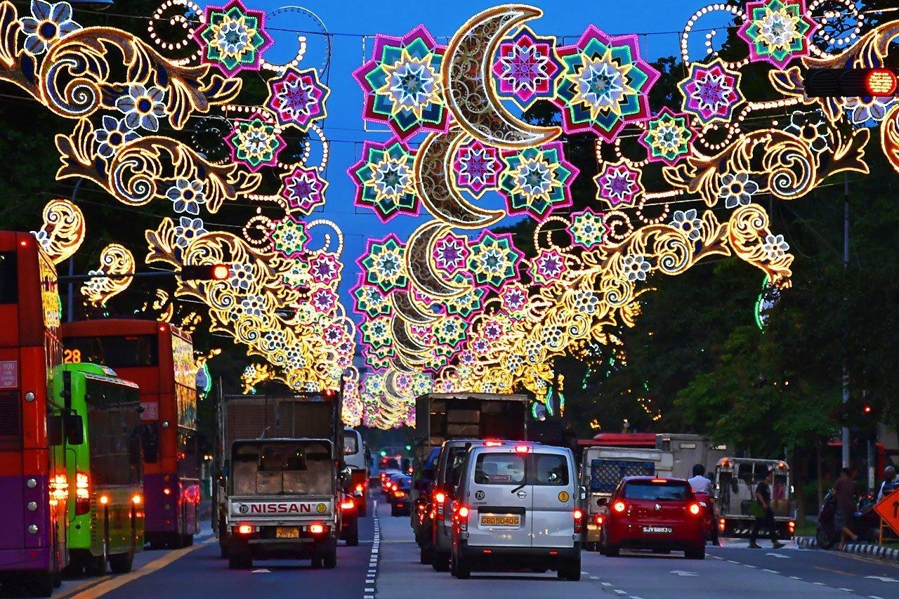 Sims Avenue Hari Raya Puasa Decorations.