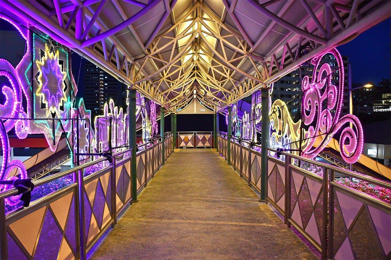Geylang Serai Festive Light-Up 2018