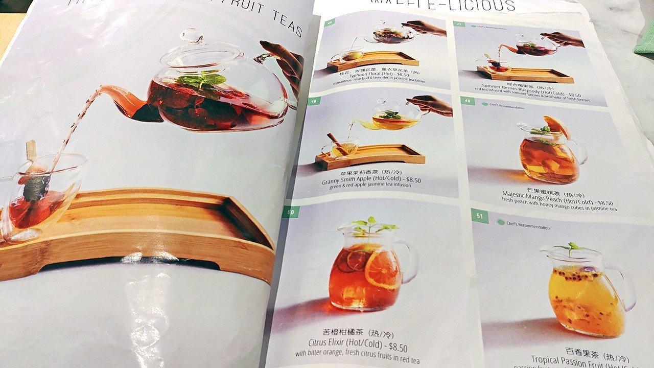 Typhoon Café Fruit Teas