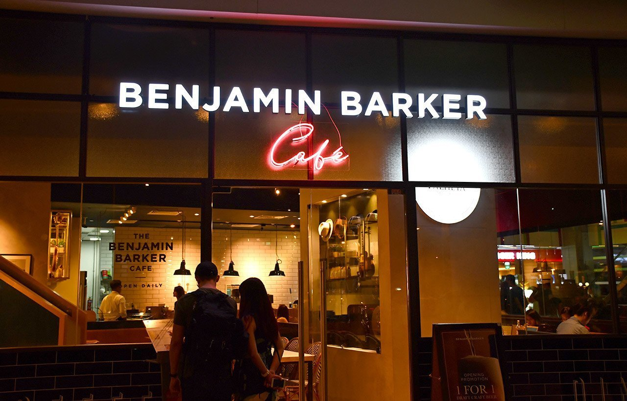 Benjamin Barker Café Review
