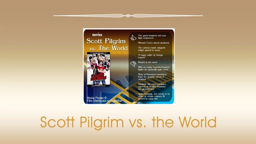 Scott Pilgrim vs. the World Movie Review.