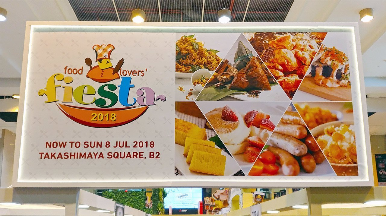 Takashimaya Food Lovers' Fiesta 2018.