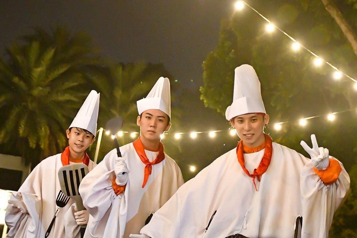 Chefs on Stilts at Sentosa GrillFest 2018.