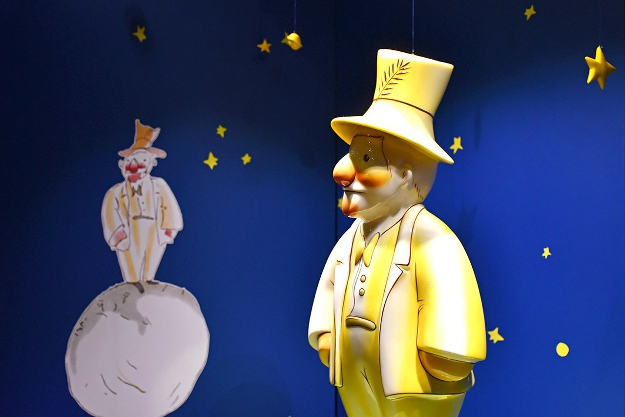 The Conceited Man in The Little Prince.