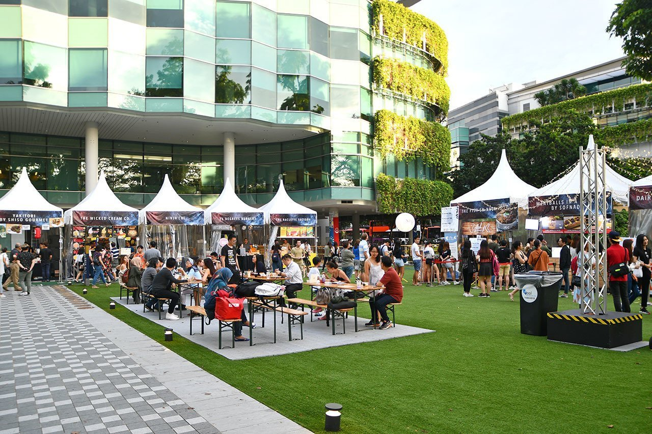Eat @ Festive Village | Singapore Night Festival 2018