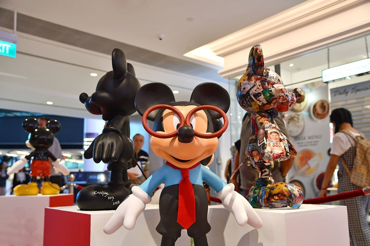 Mickey Mouse Exhibition in Singapore