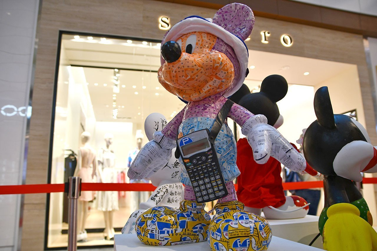 Mickey Mouse Go Local Singapore