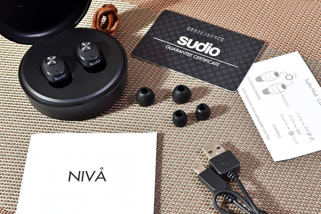Sudio Niva True Wireless Earphones Box Contents