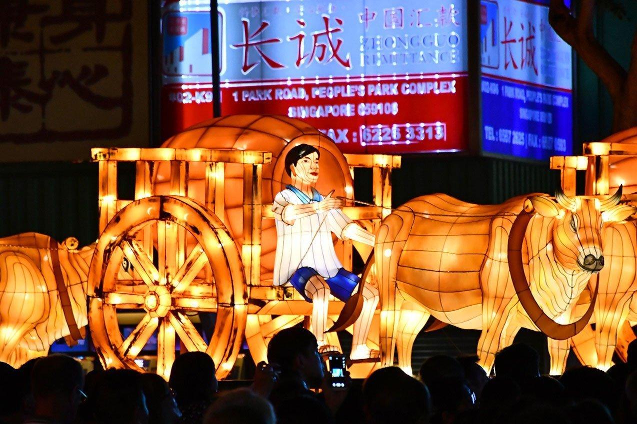 Singapore Chinatown Lantern Festival 2021.
