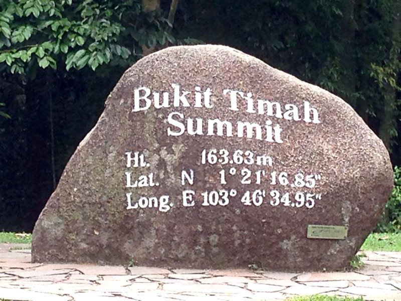 Singaporean Locations Perfect for Video Games - Bukit Timah Hill
