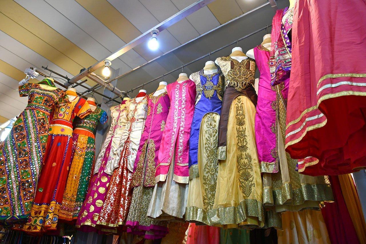 Tekka Market Saree Stall