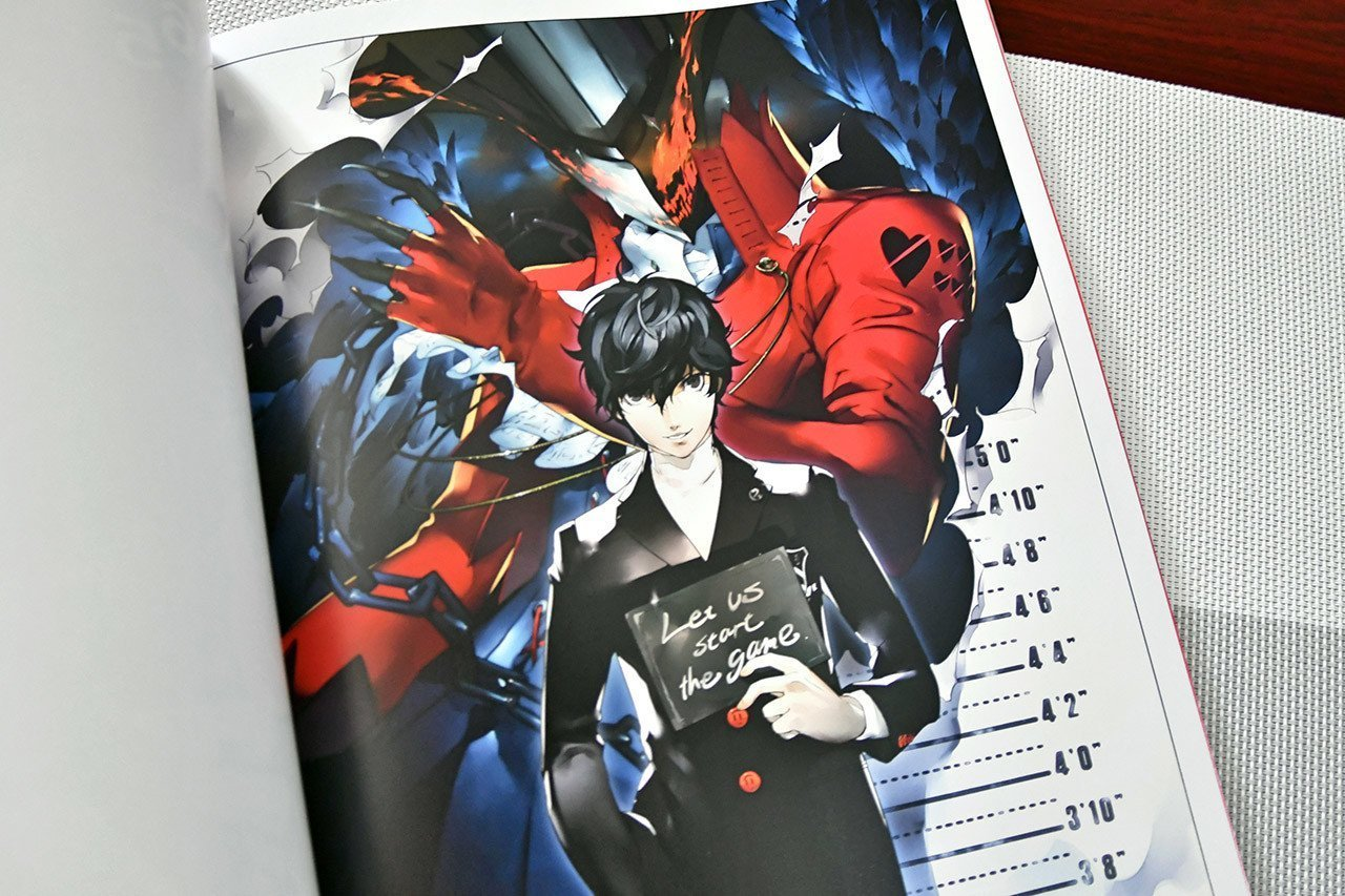 Inner cover of Persona 5 Original Soundtrack Selection for the Electone Stagea.