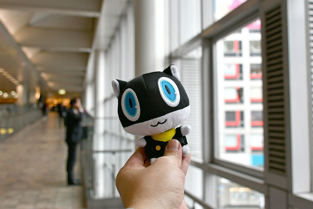 A Persona 5 Tourist in Tokyo.