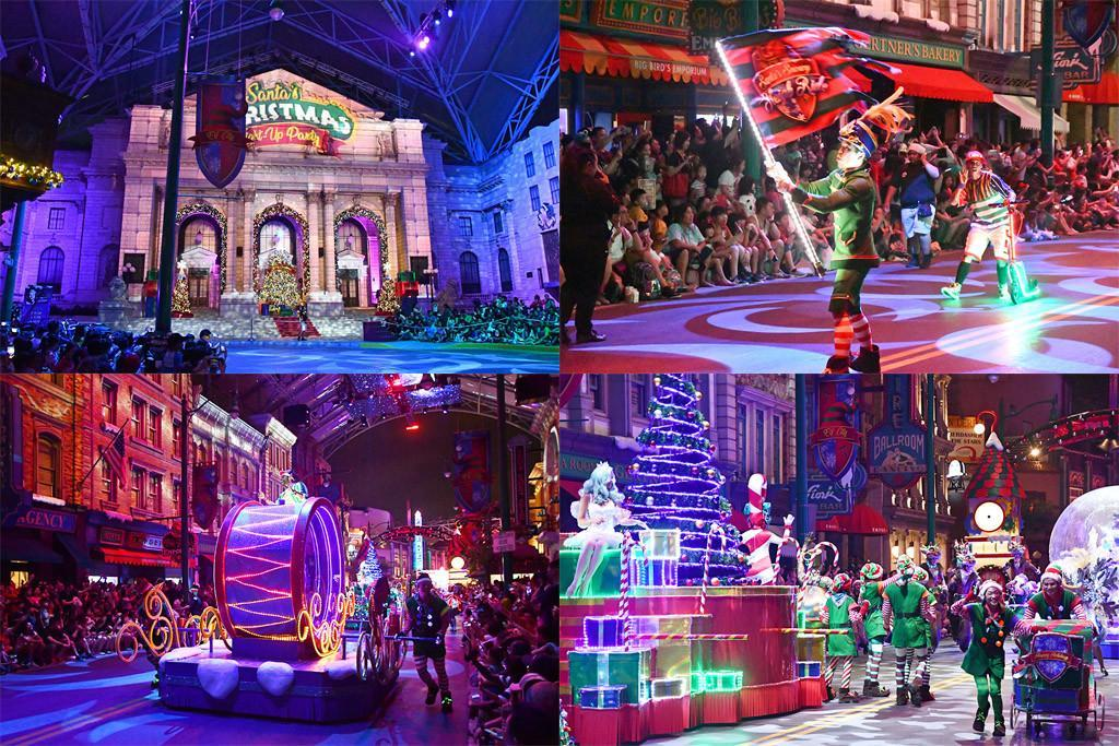 A Universal Christmas, Universal Studios Singapore.