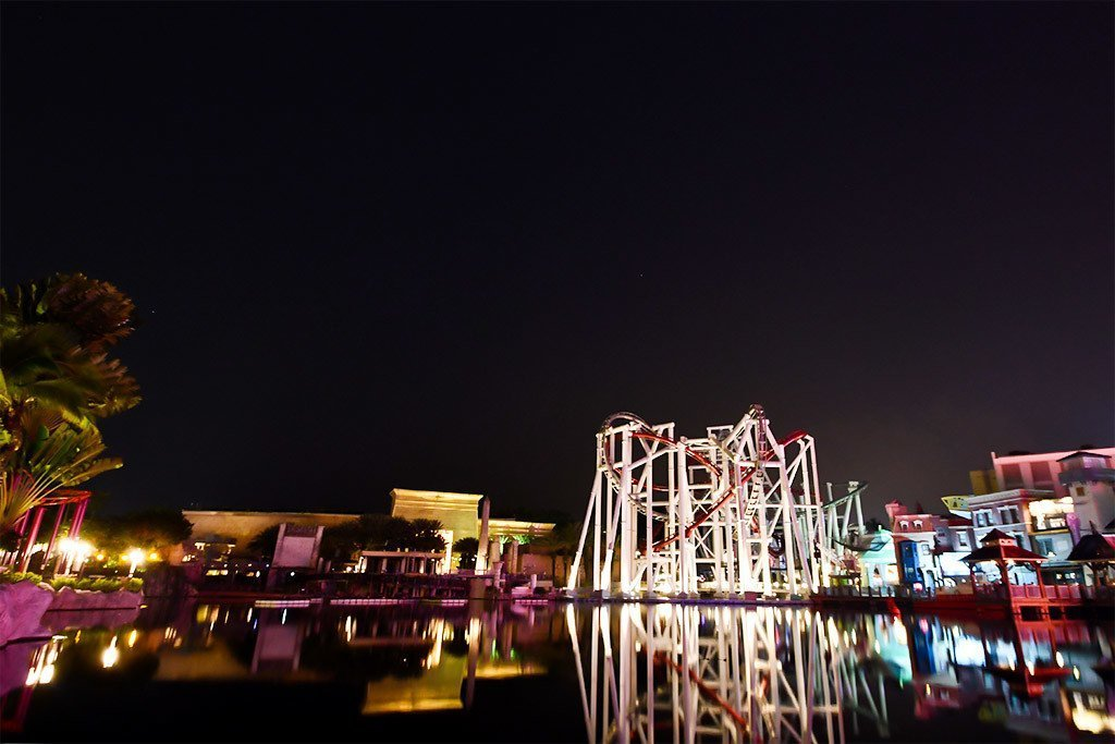 Universal Studios Singapore Evening.