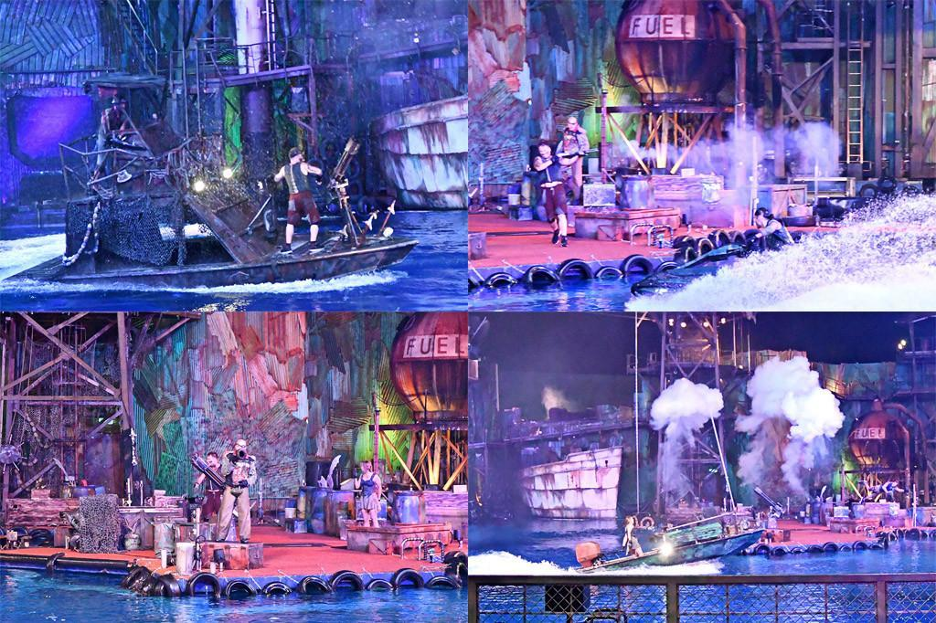 Universal Studios Singapore Waterworld Show