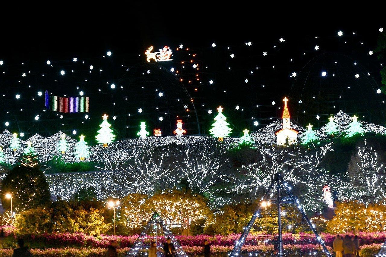 Ashikaga Flower Park Winter Illumination 2018.